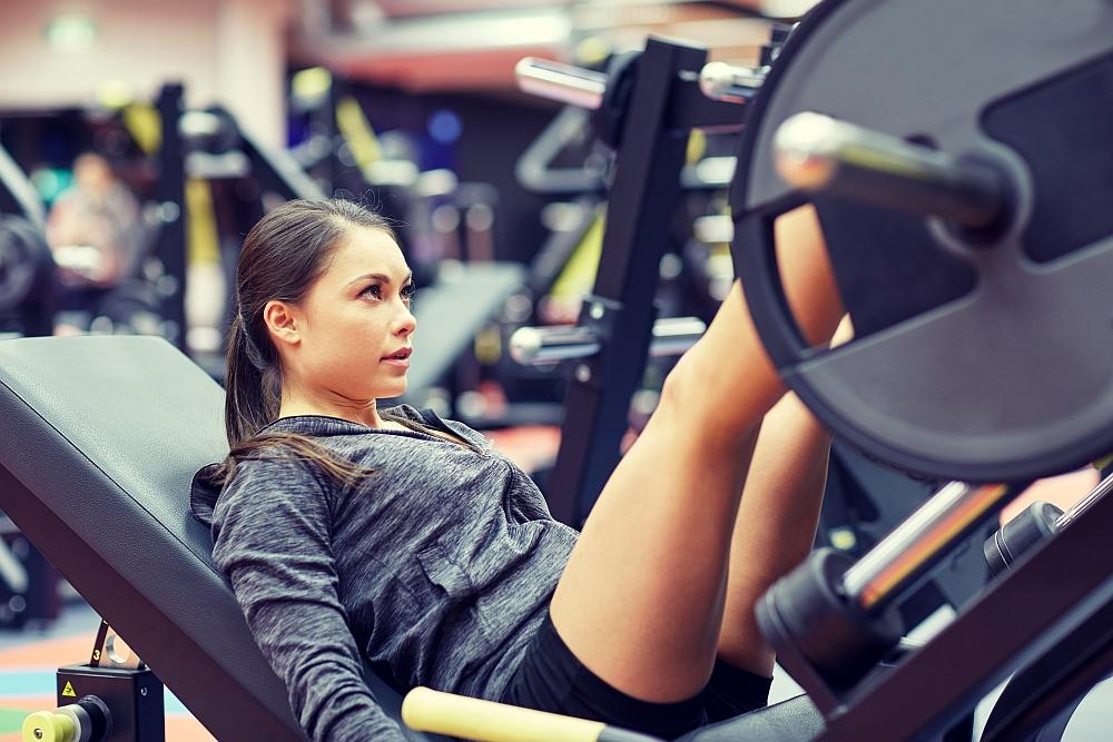Mięśnie nóg ławka